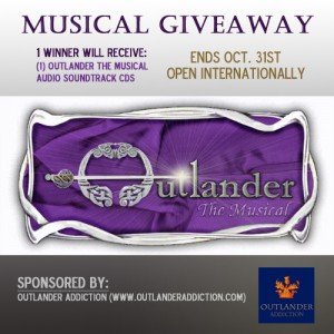 outlander the musical giveaway