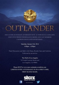 outlander LA event